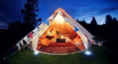 Six Different Styles of Camping