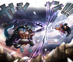 One Piece Fan Art, One Piece Manga, Kaido Vs Luffy, One Peace, Cool Anime Wallpapers, One Piece Luffy, Monkey D Luffy, Anime Art Girl, Art Pieces