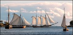 tagitables: Traditional sailingships in Helsinki by Wanhat purjelaivat on Flickr