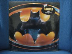 "SEALED, RARE, Vintage, Batman - ""Original Soundtrack"" ,  Prince, Danny Elfman, Tim Burton, Michael Keaton, Jack Nicholson, New Oldstock on Etsy, $24.99"