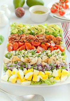 Salad Recipes, Cake Recipes, Healthy Recipes, Big Mac Salat, Brunch, South Beach Diet, Calzone, Food Art, Cobb Salad