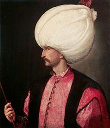 A copy of Titian's portrait of Suleiman the Magnificent from about SULEIMAN THE MAGNIFICENT Ottoman Empire (now Turkey). Military and political leader.Sultan of Ottoman Empire from 1520 to enlarged and strengthened empire. Empire Ottoman, Die 100, Istanbul Travel, Muslim Men, Landsknecht, Influential People, Important People, Hand Painting Art, Harems