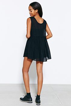 Kimchi Blue Cotton Pippin Day Dress - Urban Outfitters