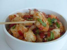 Recette Apéritif : Crevettes marinées à l'heure de l'apéritif... par Philandcocuisine