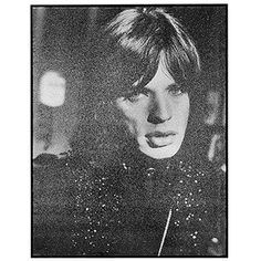 """""""Jagger 1968"""" Diamond Dust Screen Print by Russell Young   From a unique collection of antique and modern prints at https://www.1stdibs.com/furniture/wall-decorations/prints/"""