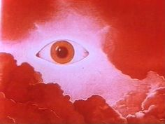 Red art eye in the sky Au carrefour étrange Red Aesthetic, Aesthetic Pictures, Eyes Artwork, Amarillis, Retro Poster, Hxh Characters, Weird Dreams, A Silent Voice, Santa Lucia