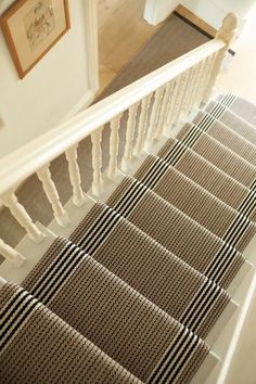 London Collection - traditionell - Treppenhaus - London - Roger Oates Floors & Fabrics [a Stair Runner Carpet, Stairs, Decor, Home Decor Styles, Transitional Decor Living Room, Transitional Decor, Coastal Living Rooms, Furniture Placement Living Room, Transitional Furniture