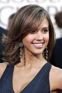 Medium Length Straight Brown Hairstyle #hairstyles, #haircuts, #hair, #pinsland, https://apps.facebook.com/yangutu