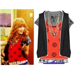 Designer Clothes, Shoes & Bags for Women Disney Fashion, Disney Outfits, Cece Shake It Up, Fashion Clothes, Fashion Outfits, Fashion Tips, Bella Thorne, Celebrity Outfits, Teenager Outfits