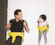 Tumblr....Jimmy and Winnie Fallon for People Magazine. Okay. This is the CUTEST THING EVER