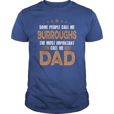 BURROUGHS DAD! - Hot Trend T-shirts