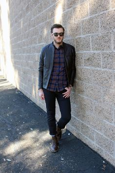 Leathered and Laidback #tmbr #Asos #OldNavy #UrbanOutfitters