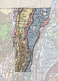 Geologic Maps of the 50 United States: Vermont Geologic Map