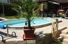 conZero Kunden Erfahrungsberichte | Poolakademie: Der Pool Shop für den Eigenbau des heimischen Pools Piscina Oval, Cool Pools, Outdoor Decor, Pools, Home And Garden, Diy Swimming Pool, Oval Pool, Pool Ideas, Swiming Pool