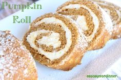 Pumpkin Roll - Don't be intimidated by this cake, it really is EASY to make by eatcakefordinner.blogspot.com