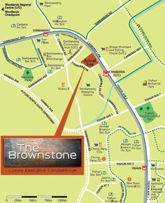 The Brownstone EC Location Map