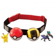 Pokemon XY Clip 'n' Carry Poke Ball Belt Pikachu/Noivern from TOMY
