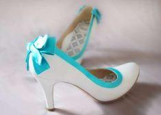 Zapatos de novia de Jessica y Emily Leung