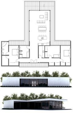 Modern Small Home Plan