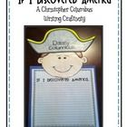 Celebrate Columbus day with this cute writing craftivity!