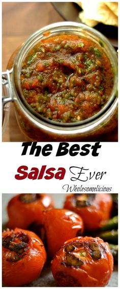 your average salsa. Authentic and real Mexican salsa made by charring your tomatoes and peppers.Not your average salsa. Authentic and real Mexican salsa made by charring your tomatoes and peppers. Mexican Dishes, Mexican Food Recipes, Dinner Recipes, Mexican Meals, Healthy Mexican Food, Real Mexican Food, Vegetarian Mexican, Mexican Cooking, Comida Tex Mex