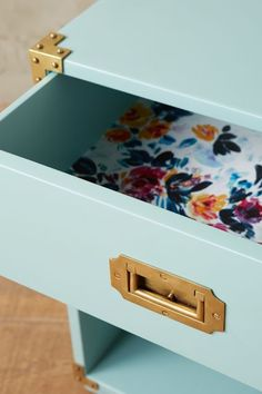 Lacquered Wellington Nightstand #anthrofave