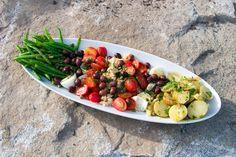 Recipe of the Day ~ Super Nicosia Salad  #summersalads #partyfood #veganappetizers #4thofJulyrecipes #recipeoftheday #goodnessg