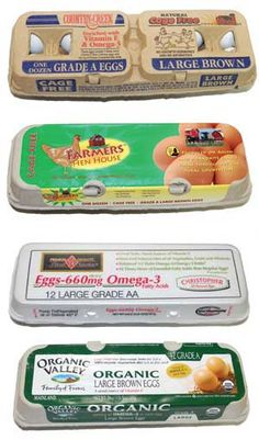 How to Decode Egg Cartons Not all eggs are created equal, so it's important to know what different labels really mean.