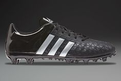 712d3cf70 adidas ACE 15.3 FG AG - Core Black Silver Metallic Solar Yellow. Mens  Football BootsBlack ...
