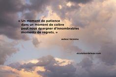 Citations de Nicole | Nicole Bordeleau Patience, Regret, Miracle Morning, Wise Words, Inspirer, Meditation, Inspirational Quotes, Attitude, Zen