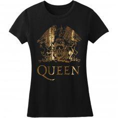 Queen Gold Logo Girls Jr