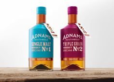 Making spirits bright...! Adnams Whisky on Packaging of the World - Creative Package Design Gallery