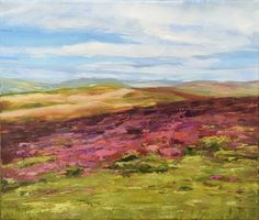 This one is from my Exmoor series, on stretched canvas. I called it Lightness because of the feeling I have when I look at this painting. It seems full of light Brush Strokes, Stretched Canvas, Oil Painting On Canvas, Impressionist, Poppies, The Good Place, My Arts, Palette Knife, Lighting