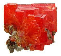 Wulfenite / Red Cloud Mine, Trigo Mts., La Paz County, Arizona..one small peace is worth a small fortune