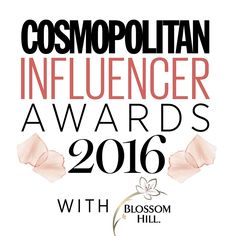 The Cosmo Blog Awards are back and this year they're called the Cosmopolitan InfluencerAwards 2016   Carly Susanne
