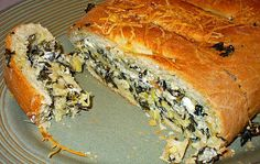 Delicious Spinach-Feta Bread (Sandwich) | Flickr - Photo Sharing!