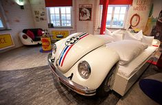 Herbie VW Love Bug Bed I want to do this but with a old Ford truck