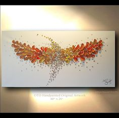 Opening Sale Painting Sky Dancing 48x24 Hummingbird by DreamWindow, $117.50