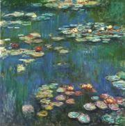 Monet  모네의 <수련>  느끼는 그대로, 보이는그대로를 그린 모네.감정에 충실하여 시시각각 변해가는 그 순간을 빠른 붓 놀림으로 살아있는듯한 느낌을 그린다.