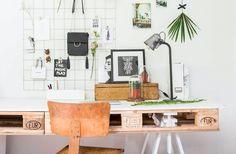 Inspiratieboost: een creatief inspiratiebord in de home office
