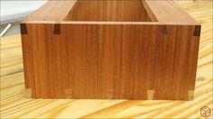 Hand Cut Dovetails – Suspended Utensil Shelves   Jays Custom Creations