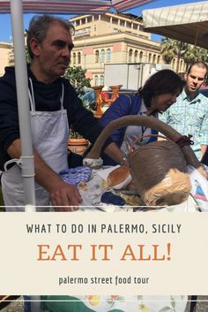 Eat, we did! One of the best things you can do in Palermo, Sicily is to try all the foods, and what better way to do that, then on a food tour!