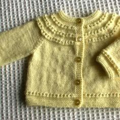 The Gift Free Lace Baby Cardigan Knitting Pattern Baby Cardigan Knitting Pattern Free, Baby Sweater Patterns, Knitted Baby Cardigan, Baby Knitting Patterns, Baby Patterns, Knitted Hats, Cardigan Design, Simply Knitting, Baby Sweaters
