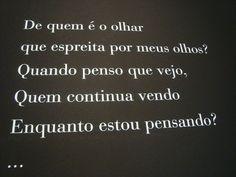 """""""De quem é olhar"""", de Fernando Pessoa"""