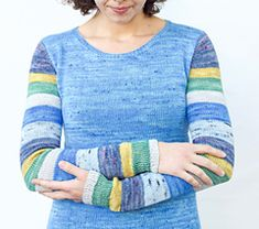 Ravelry: Sock Arms pattern by Stephanie Lotven