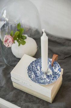 DIY: Gör en egen ljusstake av gammalt porslin
