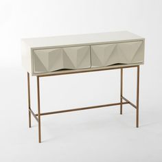 West Elm: Sculpted Geo Console £499.00