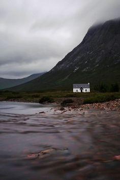 ~Skye of the Highlands~Cottage, Glen Coe, Scotland Connemara, Beautiful World, Beautiful Places, Scottish Cottages, Glen Coe, Scotland Travel, Scotland Vacation, Ireland Vacation, Ireland Travel
