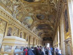 Amazing room designs inside Louvre