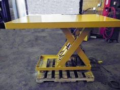 19 Best Used Workbenches & Lift Tables images in 2012 | Lift